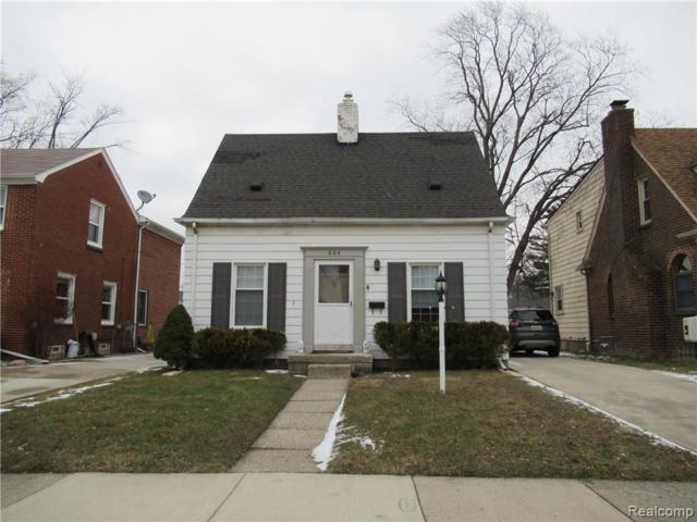 844 N Highland Street, Dearborn, MI 48128 (#219013156) :: RE/MAX Classic