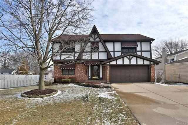 24011 Heritage Dr, Woodhaven, MI 48183 (#219013250) :: RE/MAX Classic