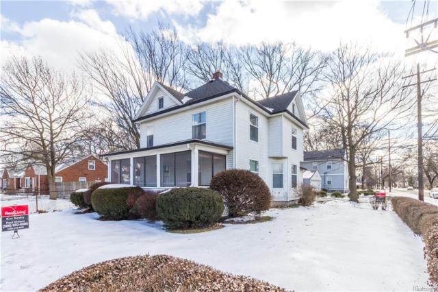 902 E 4TH ST, Royal Oak, MI 48067 (#219013533) :: Alan Brown Group