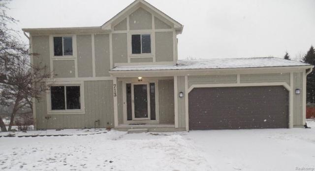 713 Kestrel Court, South Lyon, MI 48178 (#219013920) :: The Mulvihill Group
