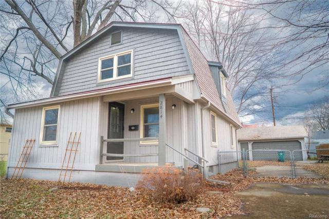 2814 Wakefield, Berkley, MI 48072 (#219013981) :: NERG Real Estate Experts