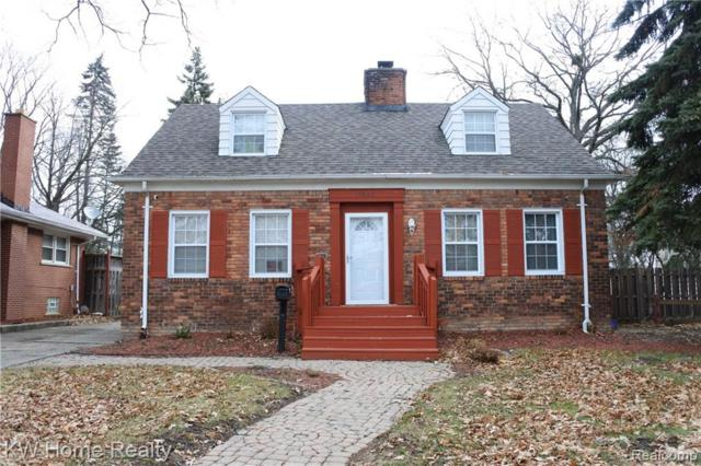 15820 Oakfield Street, Detroit, MI 48227 (#219013988) :: Keller Williams West Bloomfield