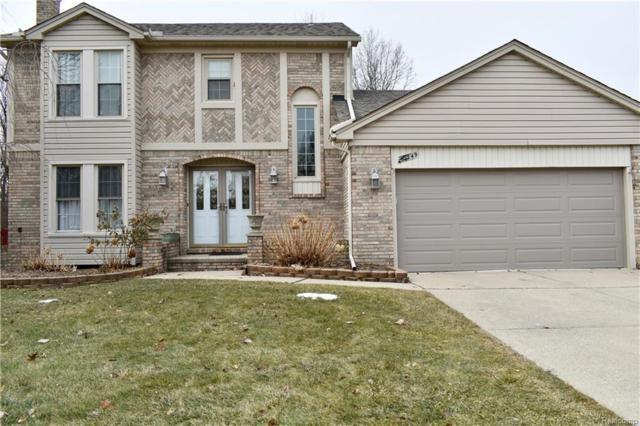 40349 Denbigh Drive, Sterling Heights, MI 48310 (#219014352) :: NERG Real Estate Experts