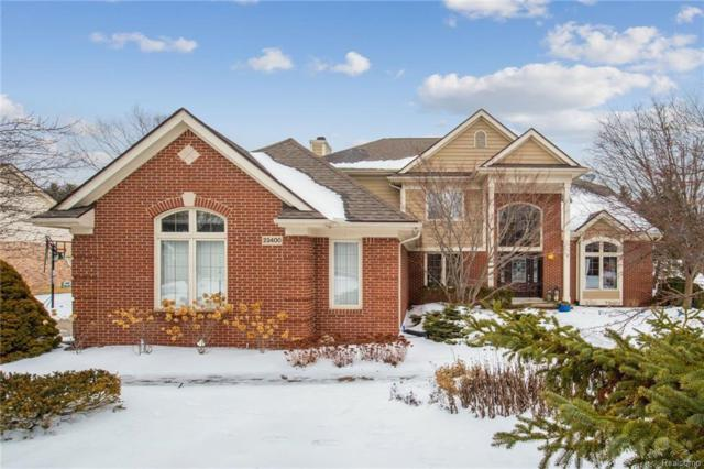 23400 Spy Glass Hl, South Lyon, MI 48178 (#219014370) :: The Mulvihill Group