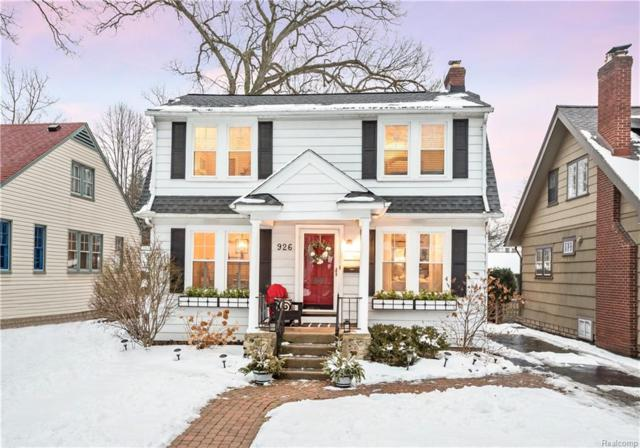 926 N Pleasant Street, Royal Oak, MI 48067 (#219014756) :: NERG Real Estate Experts