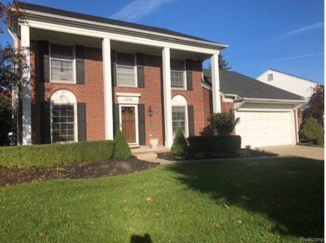 5181 Crowfoot Drive, Troy, MI 48085 (#219014762) :: The Mulvihill Group