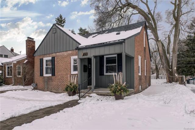 231 Saint Louis Street, Ferndale, MI 48220 (#219014954) :: NERG Real Estate Experts