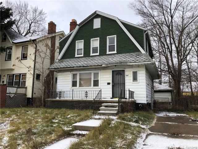 13167 Manor Street, Detroit, MI 48238 (MLS #219016430) :: The Toth Team