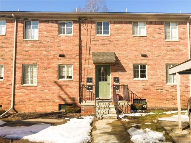 454 Romeo Road #222, Rochester, MI 48307 (#219018578) :: The Buckley Jolley Real Estate Team
