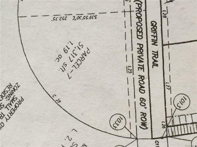 16 Griffin Trail, Metamora Twp, MI 48455 (#219019857) :: The Buckley Jolley Real Estate Team