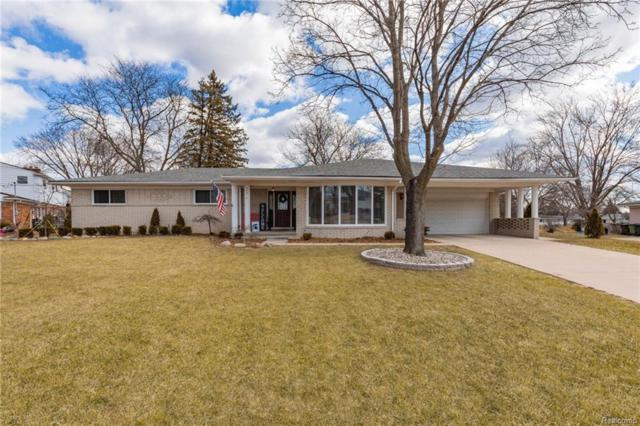 54910 Stardust Court, Shelby Twp, MI 48316 (#219021195) :: The Alex Nugent Team | Real Estate One