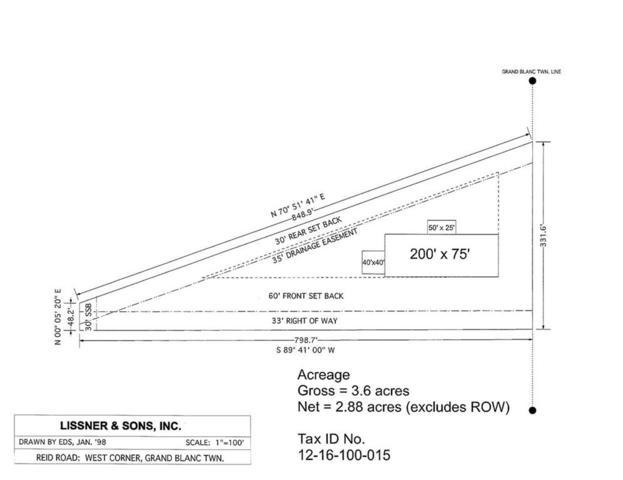 0 E Reid Road, Grand Blanc Twp, MI 48439 (#5031373205) :: The Buckley Jolley Real Estate Team