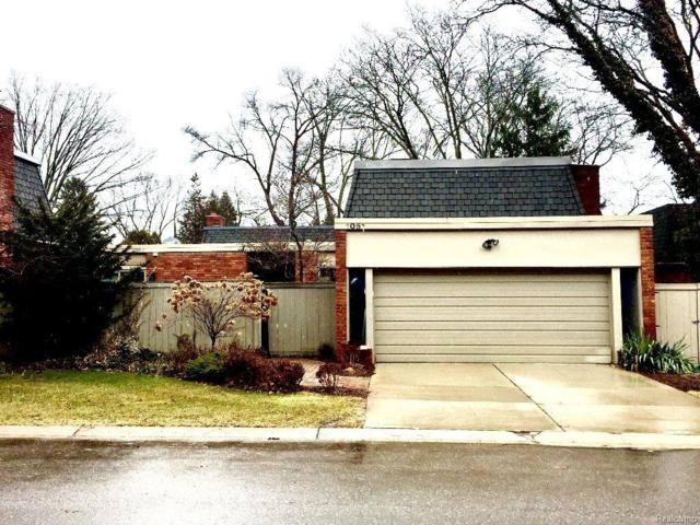 1051 W Stratford, Bloomfield Hills, MI 48303 (#219021856) :: RE/MAX Nexus