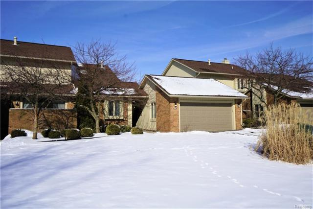 5659 Hillcrest Circle E #62, West Bloomfield Twp, MI 48322 (#219021941) :: RE/MAX Nexus
