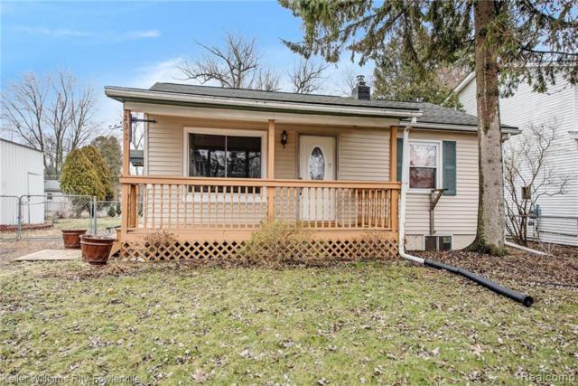 231 S Benjamin Street, Fowlerville Vlg, MI 48836 (#219022077) :: The Buckley Jolley Real Estate Team