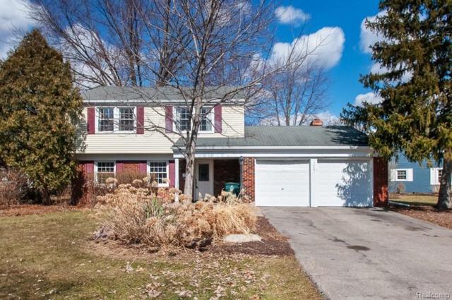 2685 Windsor Drive, Troy, MI 48085 (#219022570) :: The Alex Nugent Team   Real Estate One