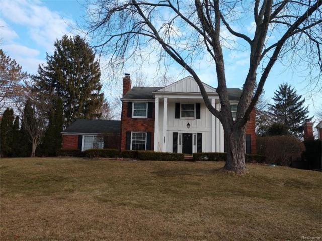 2582 Black Pine Trail Drive, Troy, MI 48098 (#219022684) :: The Alex Nugent Team   Real Estate One