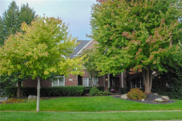 3695 Sleepy Fox Drive, Rochester Hills, MI 48309 (#219022703) :: The Alex Nugent Team   Real Estate One