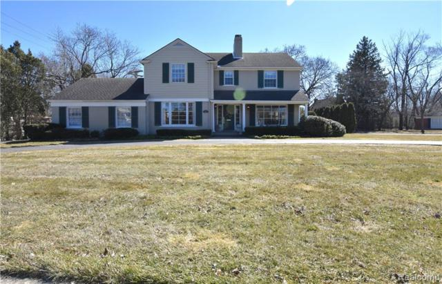 320 N Cranbrook Cross Road, Bloomfield Twp, MI 48301 (#219022794) :: The Alex Nugent Team   Real Estate One