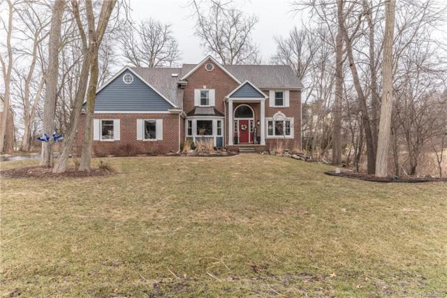 979 Deep Valley Drive, Milford Vlg, MI 48381 (#219023065) :: The Buckley Jolley Real Estate Team