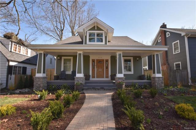 615 Oak Avenue, Birmingham, MI 48009 (#219023126) :: RE/MAX Classic