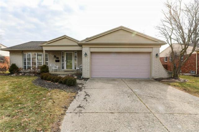 15120 Thornridge Drive, Plymouth Twp, MI 48170 (#219023232) :: GK Real Estate Team