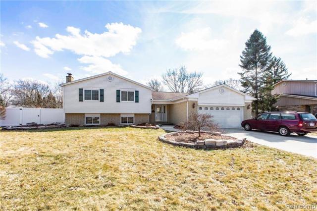 2120 Hillcrescent Drive, Troy, MI 48085 (#219023316) :: The Alex Nugent Team   Real Estate One