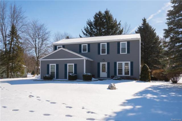 1220 Barneswood Lane, Rochester Hills, MI 48306 (#219023397) :: The Alex Nugent Team   Real Estate One