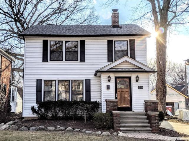 519 Knowles Street, Royal Oak, MI 48067 (#219023453) :: The Alex Nugent Team | Real Estate One