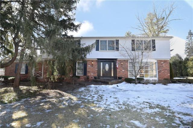 432 Hunt Master Court, Bloomfield Twp, MI 48304 (#219023571) :: The Alex Nugent Team   Real Estate One