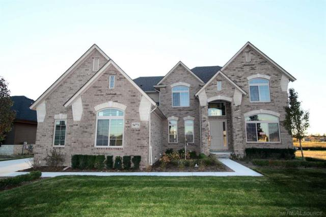 54773 Black Hills, Shelby Twp, MI 48316 (#58031373800) :: The Alex Nugent Team | Real Estate One
