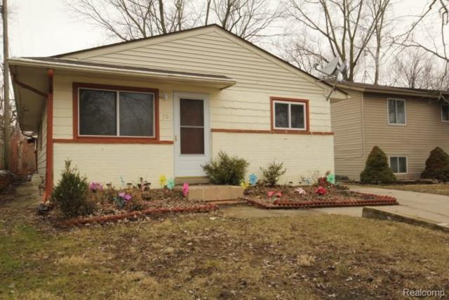 70 Carpenter Court, Waterford Twp, MI 48328 (#219023701) :: RE/MAX Classic