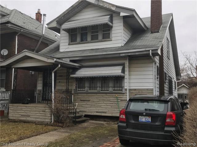 7420 Woodrow Wilson St Street, Detroit, MI 48206 (#219023837) :: RE/MAX Classic