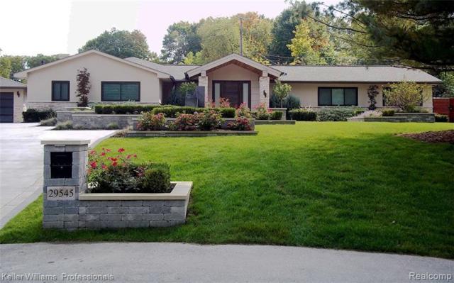 29545 Minglewood Court, Farmington Hills, MI 48334 (#219023977) :: GK Real Estate Team