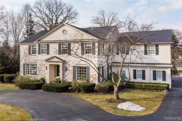 893 W Glengarry Circle, Bloomfield Twp, MI 48301 (#219023984) :: GK Real Estate Team
