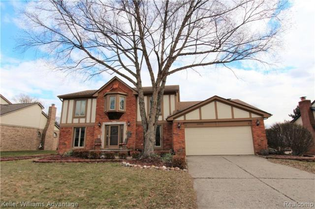 24922 White Plains Drive, Novi, MI 48374 (#219023986) :: GK Real Estate Team