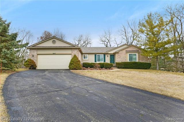 8047 Hillside Lakes Drive, Green Oak Twp, MI 48116 (#219024060) :: The Buckley Jolley Real Estate Team