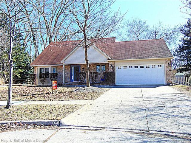 636 Valley Oak Court, Monroe, MI 48162 (#219024372) :: RE/MAX Nexus