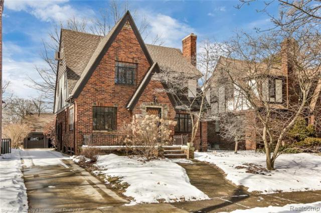 16195 Rosemont Avenue, Detroit, MI 48219 (#219024389) :: GK Real Estate Team