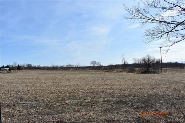 PARCEL F Roods Lake Road, Mayfield Twp, MI 48446 (MLS #219027804) :: The Toth Team