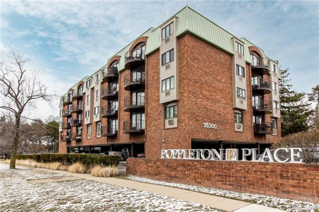 35300 Woodward Avenue #408, Birmingham, MI 48009 (#219028391) :: Alan Brown Group