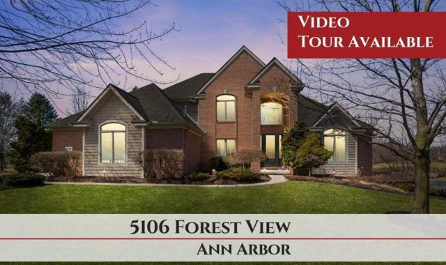 5106 Forest View Court, Pittsfield Twp, MI 48108 (MLS #543264053) :: The Toth Team