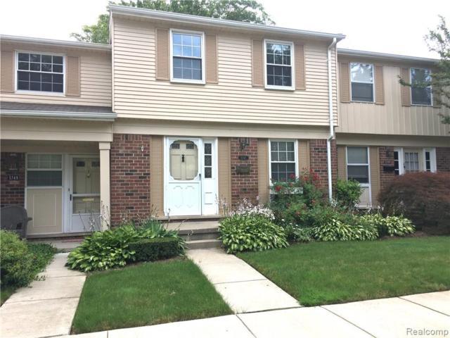 5747 Northfield Parkway, Troy, MI 48098 (#219029309) :: The Buckley Jolley Real Estate Team