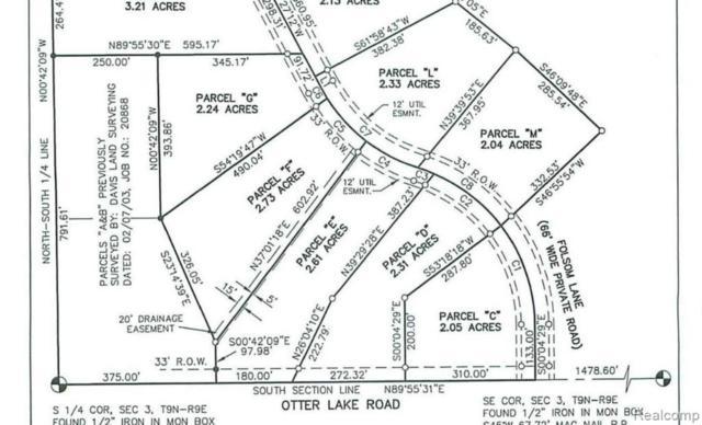 Parcel M Folsom Lane Road, Marathon Twp, MI 48464 (#219030834) :: RE/MAX Nexus