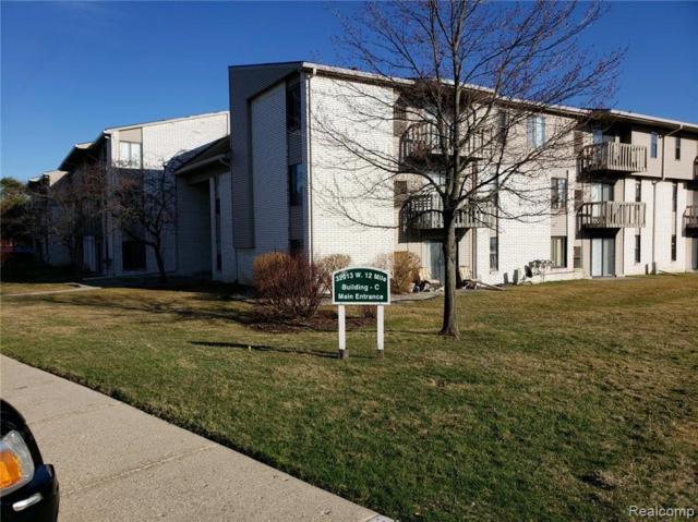 32013 W 12 MILE Road #302, Farmington Hills, MI 48334 (#219031269) :: The Buckley Jolley Real Estate Team