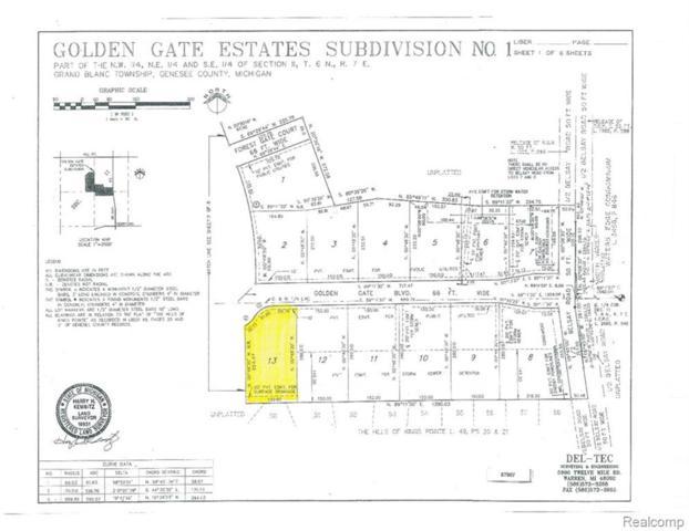 000 Golden Gate Boulevard, Grand Blanc Twp, MI 48439 (#219031870) :: The Buckley Jolley Real Estate Team