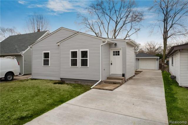 1216 E Evelyn Avenue, Hazel Park, MI 48030 (#219032363) :: The Alex Nugent Team   Real Estate One