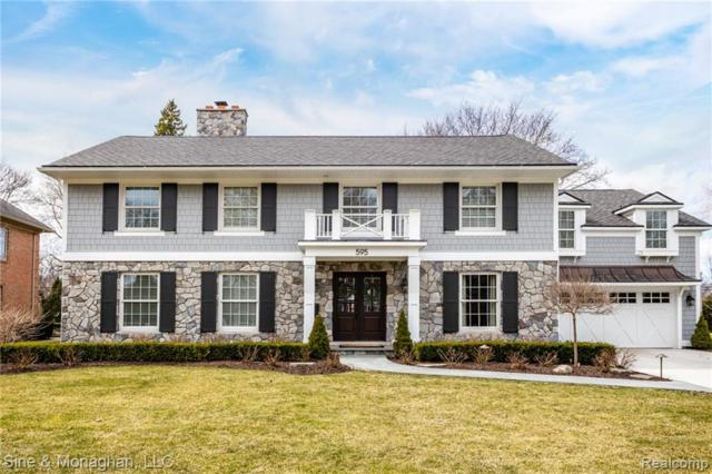 595 Ballantyne Road, Grosse Pointe Shores Vlg, MI 48236 (#219033767) :: The Mulvihill Group