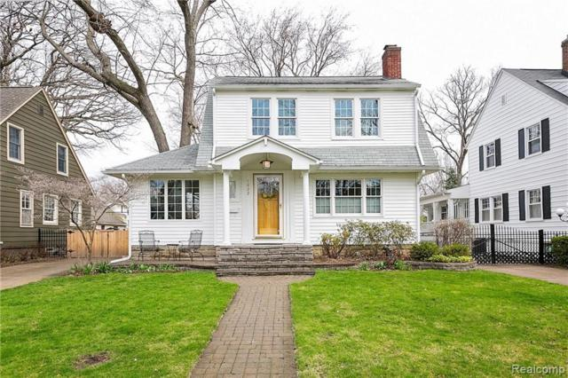 1622 Roseland Avenue, Royal Oak, MI 48073 (#219034039) :: Alan Brown Group
