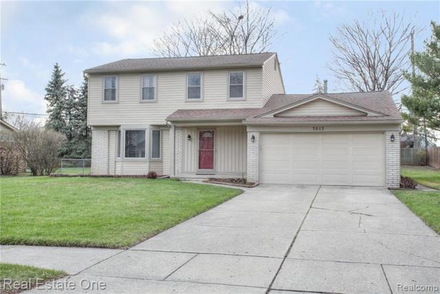 3643 Delaware Drive, Troy, MI 48084 (#219034259) :: Alan Brown Group